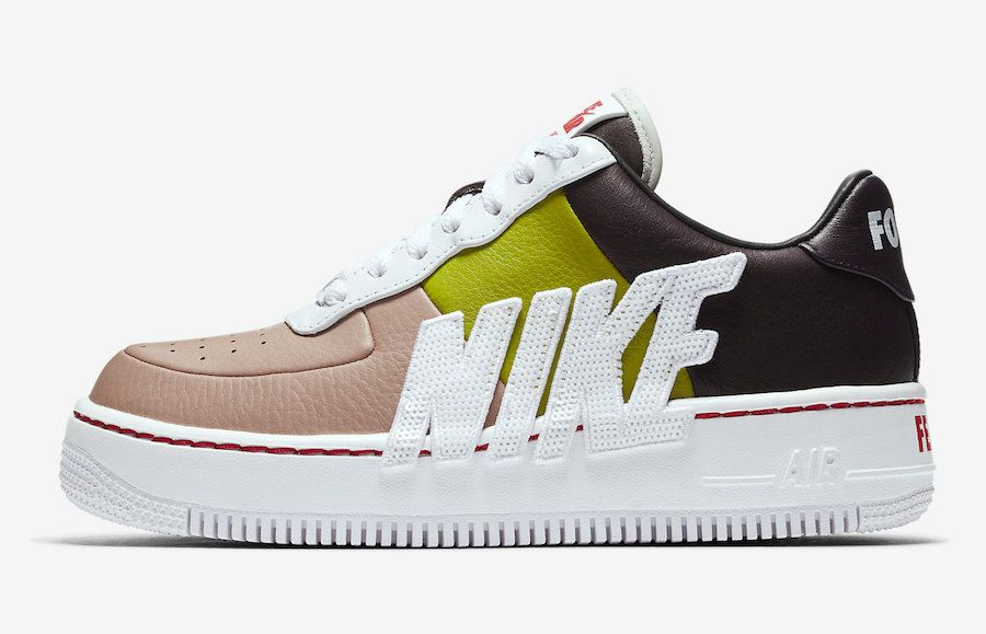 a9c32fe0bd422 Nike Air Force 1 Upstep LX Port Wine Bright Cactus-898421-602 Force is  Female Release Date