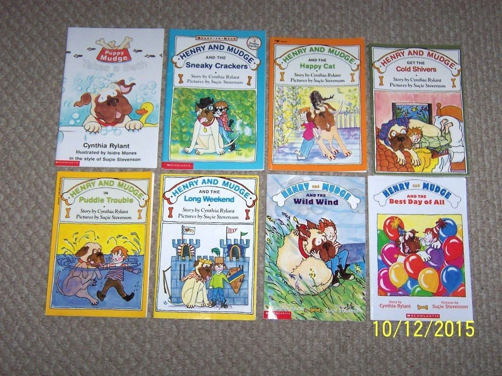 8 Henry Mudge Bookseasy Beginning Level 1 Readersfirst 1st Grade