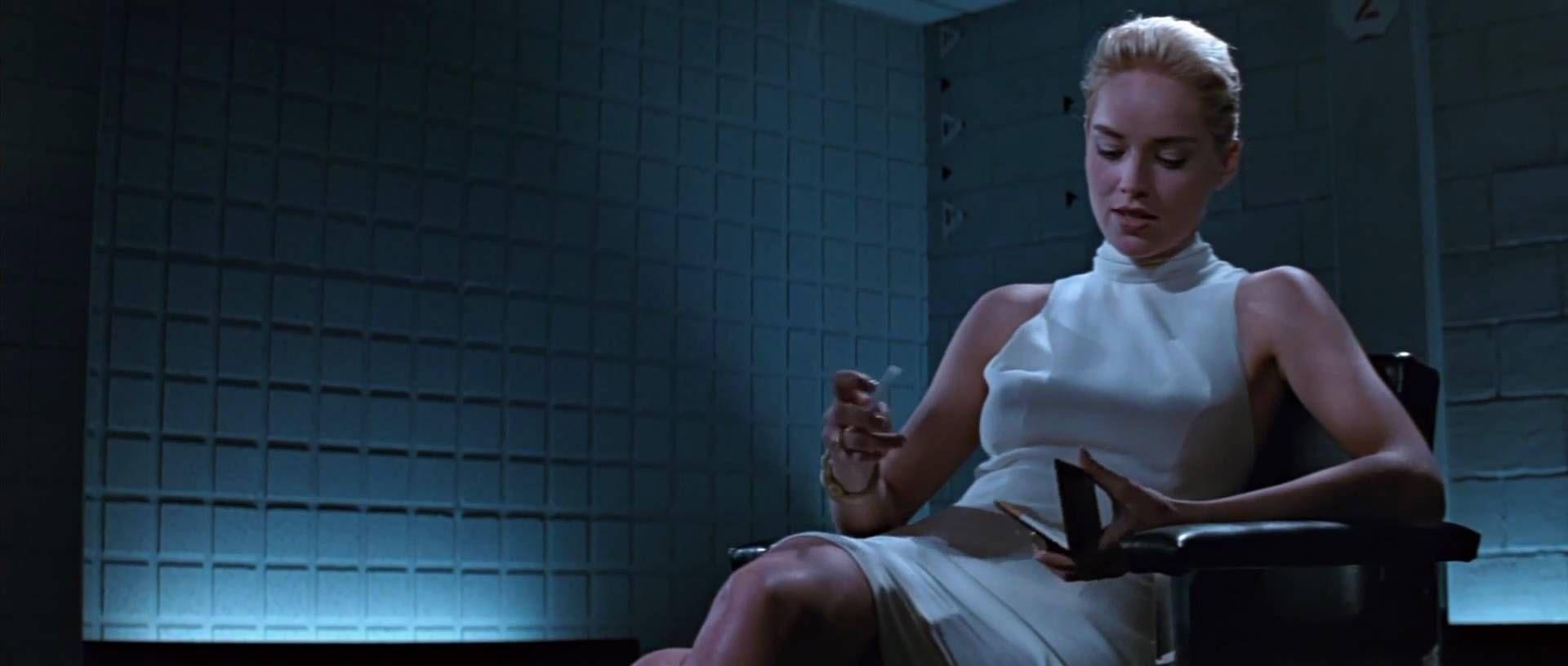Animal Instincts 1992 Movie basic instinct - detective interview scene 1080p hd | sharon