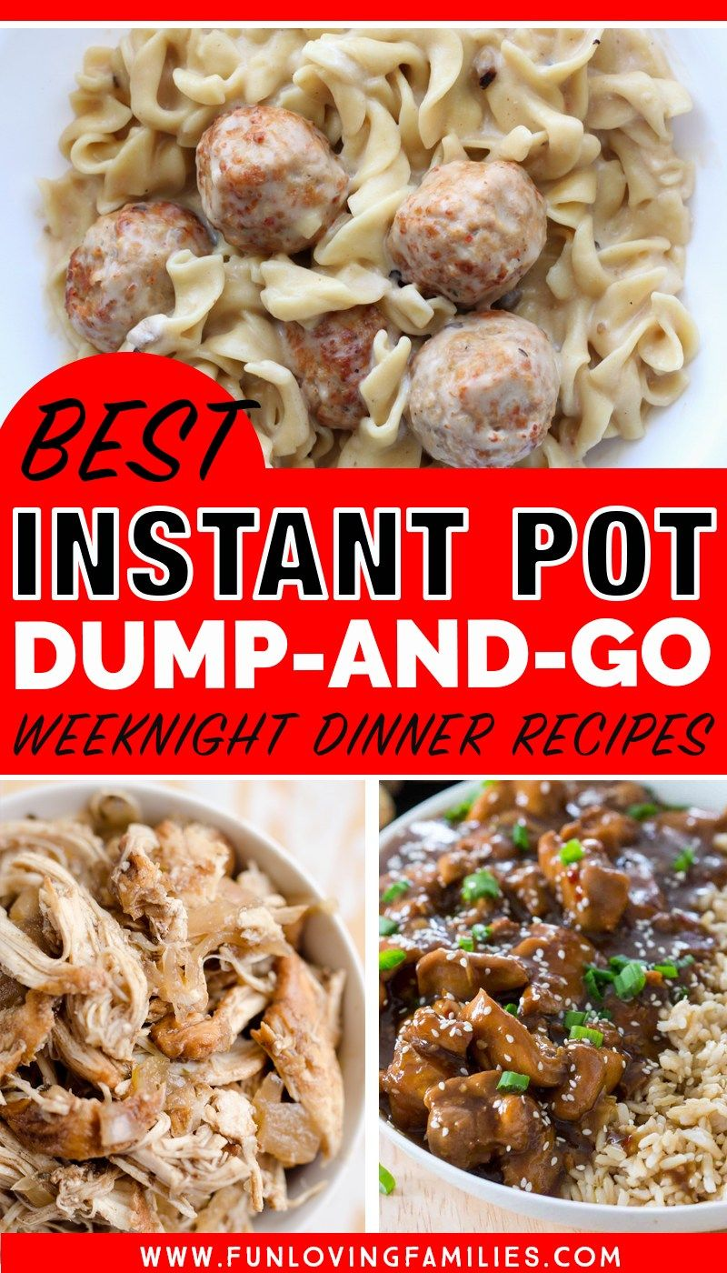 25 delicious instant pot dump dinners for easy weeknight