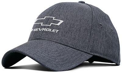 Chevrolet Heathered Linen Cap - ChevyMall Gorras De Marca 098b0e5bc5d