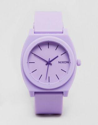 a2a983a9ef3b Reloj en violeta pastel Hyper Time Teller A119-2287 de Nixon