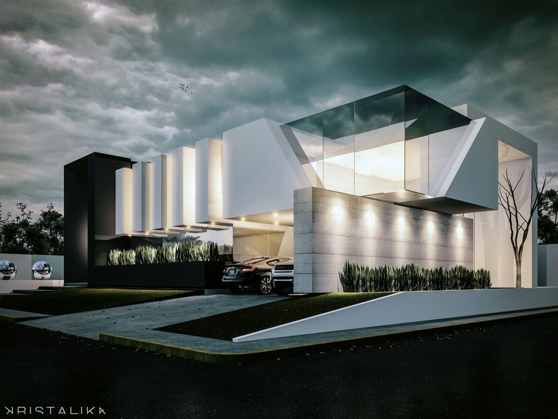 Resultado de imagen para kristalika arquitectura for Casa de arquitecto moderno