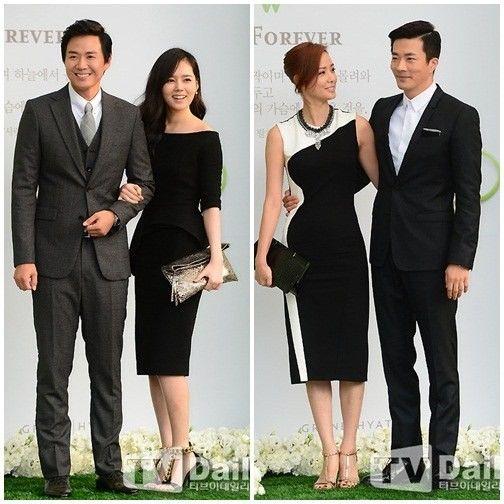 Yoon Jung Hoon & Han Ga In/.....Son Tae Young & Kwon Sang