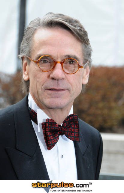 Jeremy Irons Look