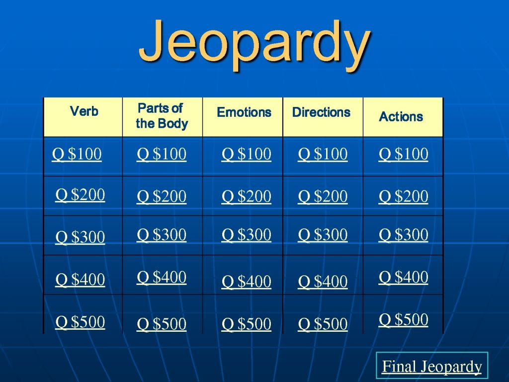 Awesome baby shower jeopardy game questions and answers ...