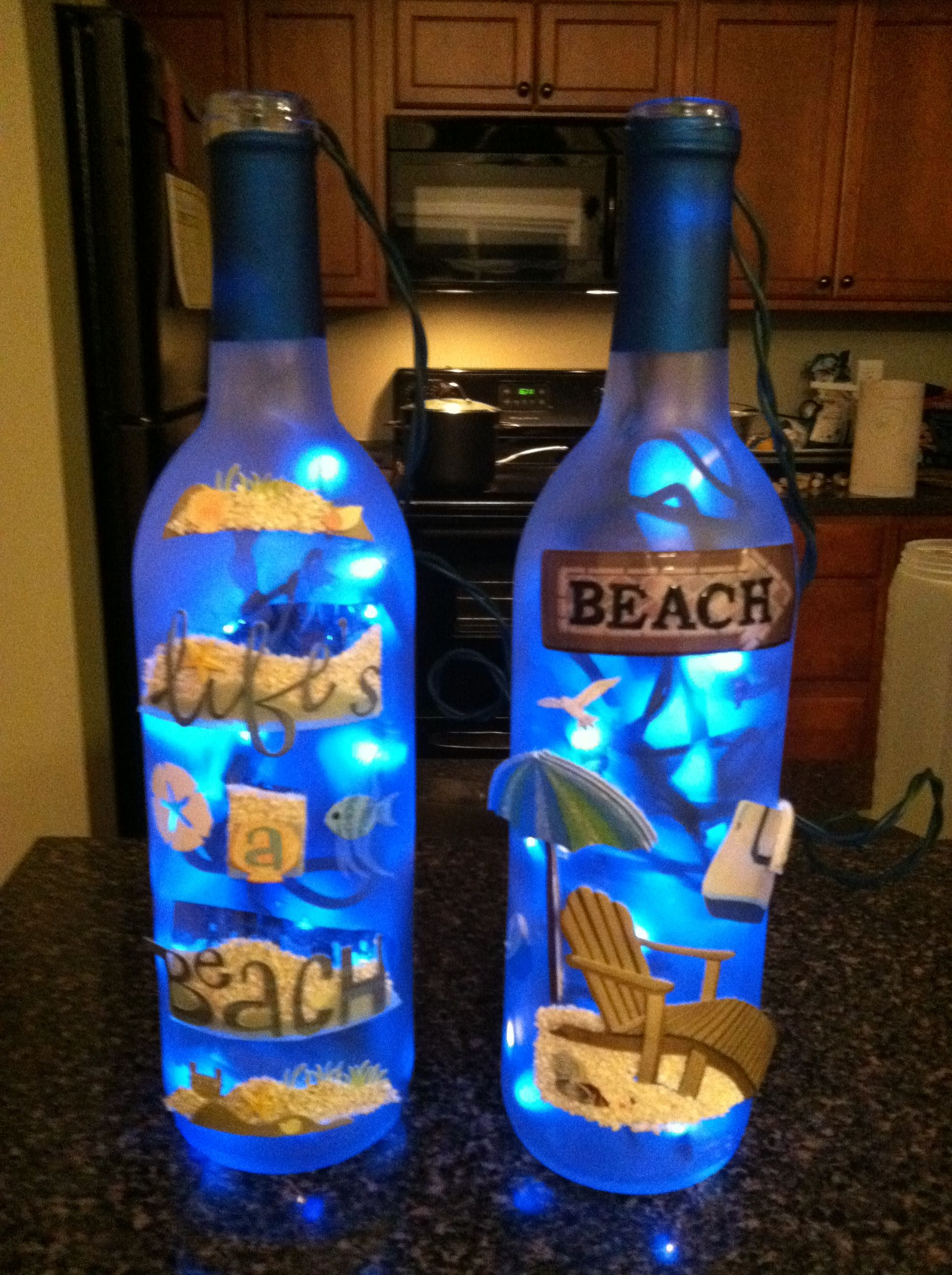 Decorated Wine Bottles My Diy Crafts Winebottles