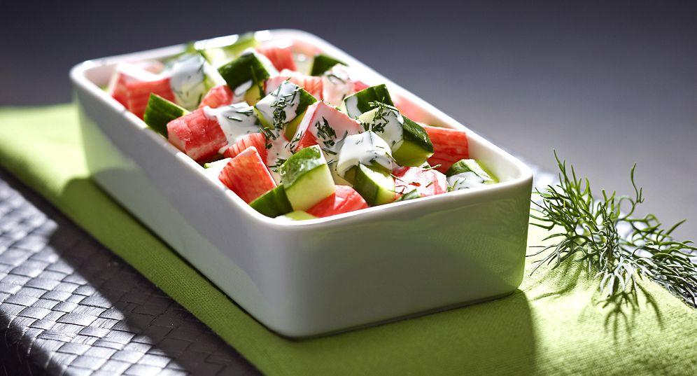 Salatka Surimi Z Sosem Jogurtowym Kuchnia Lidla Przepisy Lidla