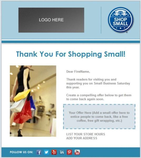 Thank you email template business fundraising letter sample letters holiday email templates for small businesses nonprofits cheaphphosting Images