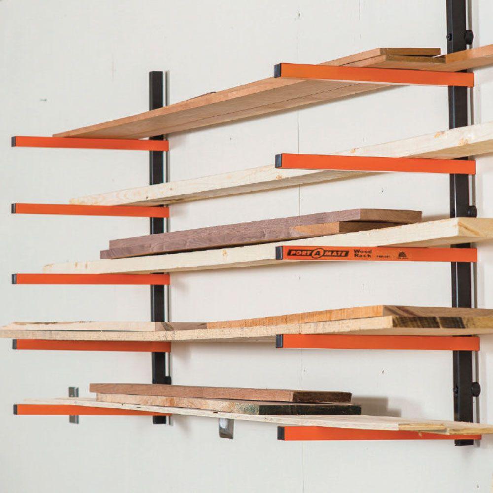 John Sterling 6 Shelf Standard Lumber Storage Shelves Storage