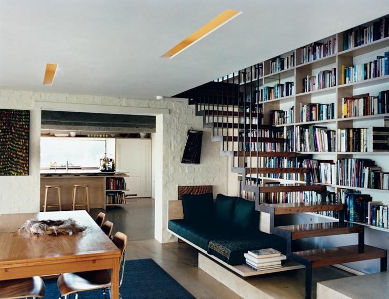 Treppen bibliothek intelligentes design interior design haus