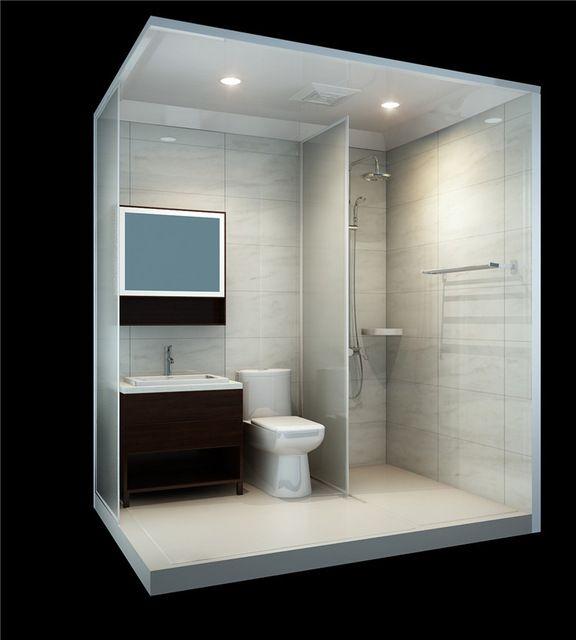 Source Water Marked Prefab Bathroom Prefab Bathroom Pod