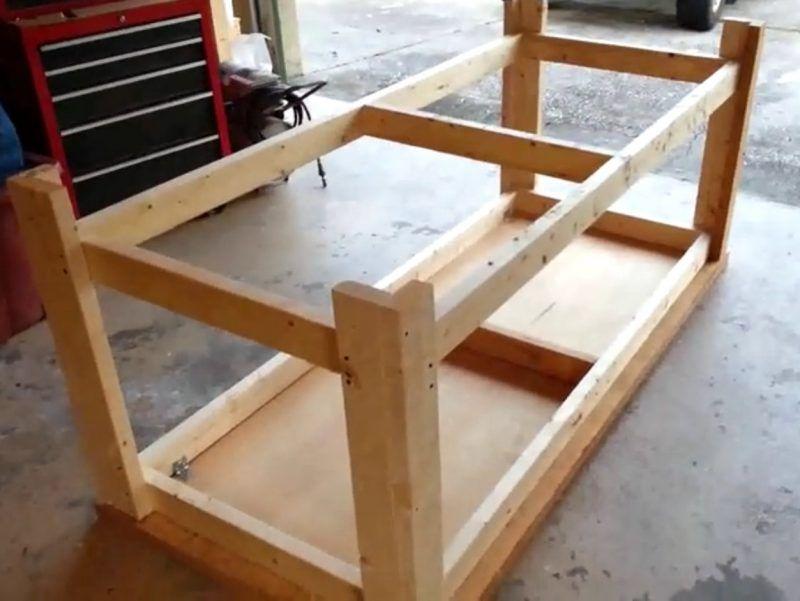 2 bauanleitungen f r heimwerker werktisch und werkbank selber bauen barn pinterest. Black Bedroom Furniture Sets. Home Design Ideas