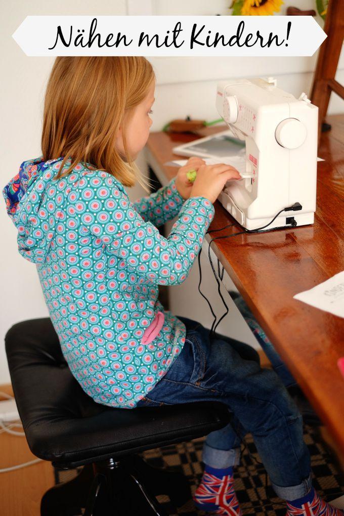 ganz einfach n hen mit kindern teaching kids for sew pinterest coudre rapide et astuces. Black Bedroom Furniture Sets. Home Design Ideas