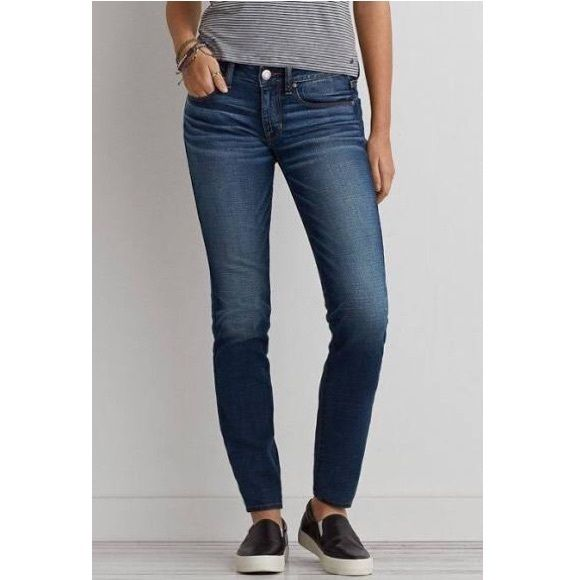 AEO sort stretch skinny jeans 2 Regular American Eagle Outfitters super stretchy skinny jean American Eagle Outfitters Pants Skinny