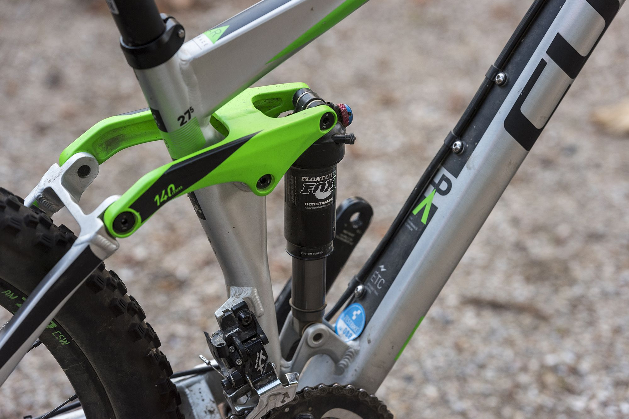 Bike And Trekking Magazine Cube Stereo 140 Hpa Race 27 5 Test