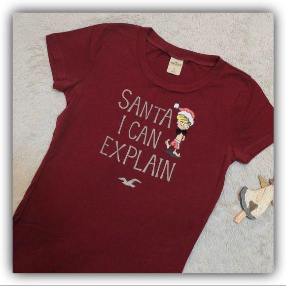 hollister christmas shirt