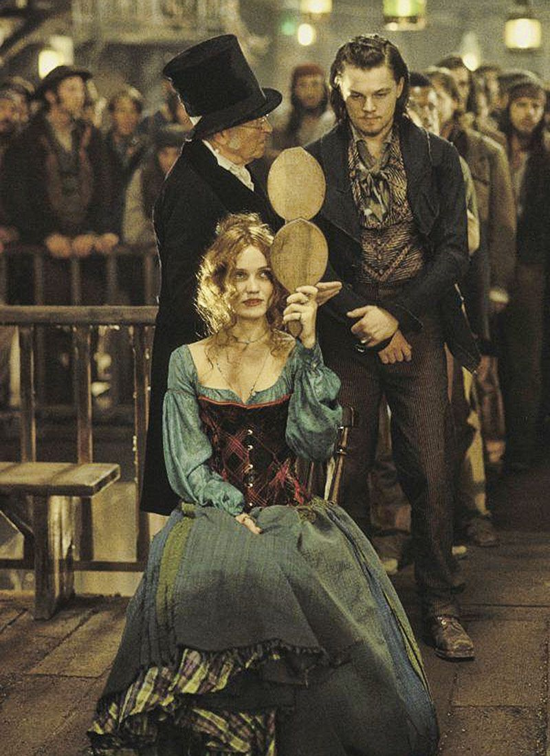 Leonardo Dicaprio Y Cameron Diaz En Gangs Of New York 2002