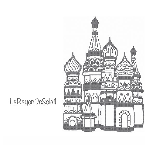 Love this design!! Obsessed with St Basil's church Hey, I found this really awesome Etsy listing at https://www.etsy.com/listing/186962476/cross-stitch-pattern-cathedral-of-vasily