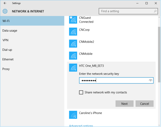 Wi Fi Sense In Windows 10 Yes It Shares Your Passkeys No You Shouldn T Be Scared Windows 10 Wifi Senses