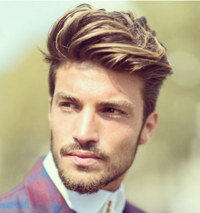 Highlights Hair Tips In Luxury Mens Hairstyles Shaved Design Hairstyle Short