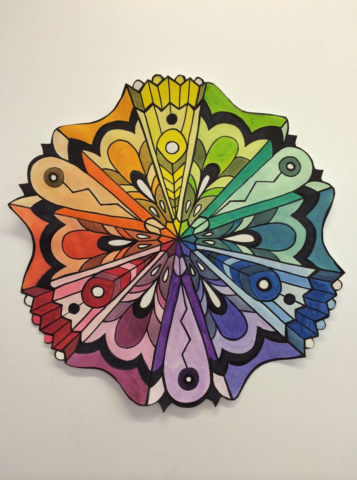 Color Wheel Mandela