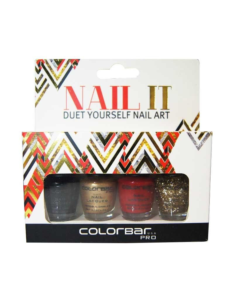 COLORBAR NAIL IT! KIT. All Daily Uses Products Are Available On Genuine Cost. For More Details Contact us: +91-7891133933 Email: ezizonjaipur@gmail.com Visit: www.ezizon.com