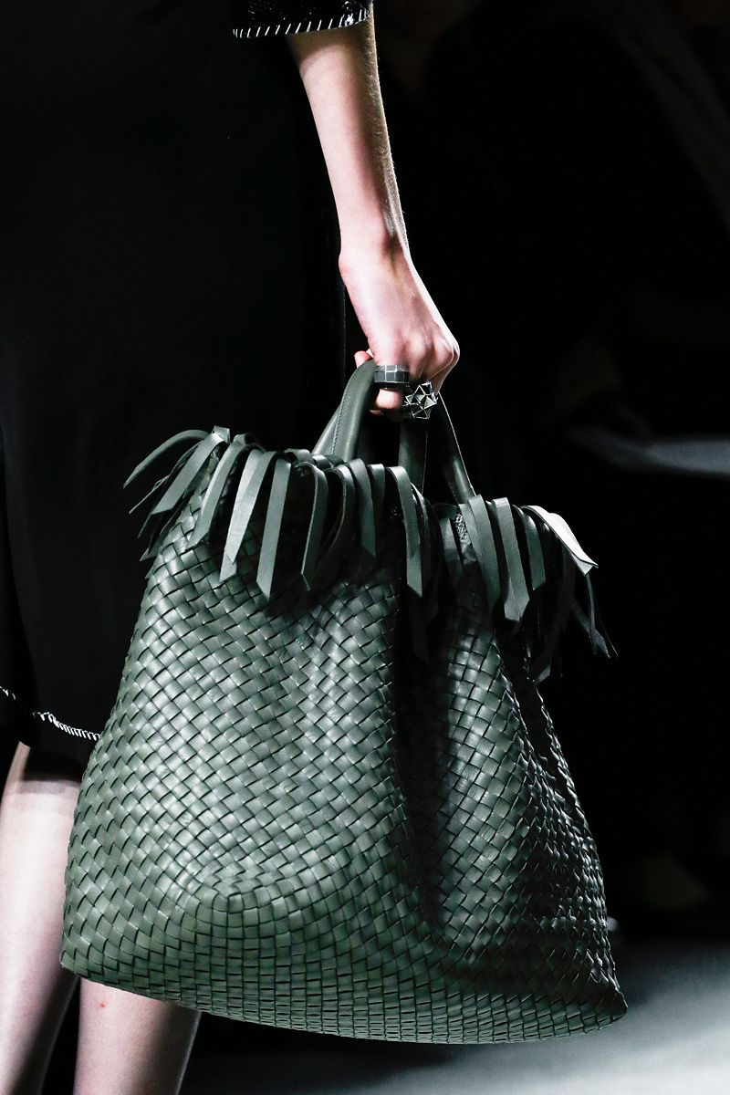 Bottega Veneta Spring 2013 #jewelry #handbags