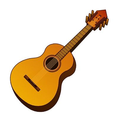 guitar clip art acoustic music instrument icon just free image rh pinterest co uk free guitar clip art images free guitar clip art images
