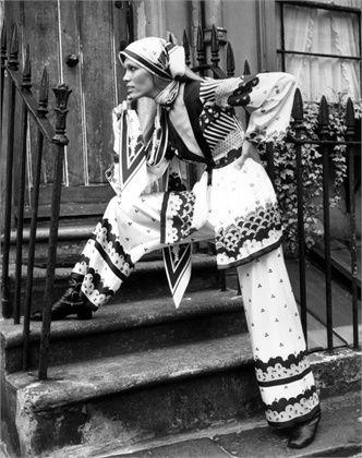 Ossie Clark - Amanda Lear - 1968