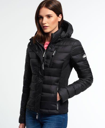 Superdry Hooded Fuji Slim Double Zip Jacket in 2019