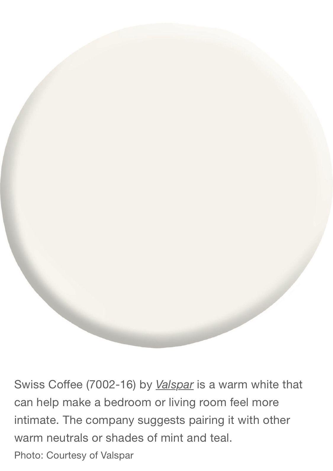 Valspar Swiss Coffee Off White Paint Colors Swiss Coffee Paint Valspar Paint Colors