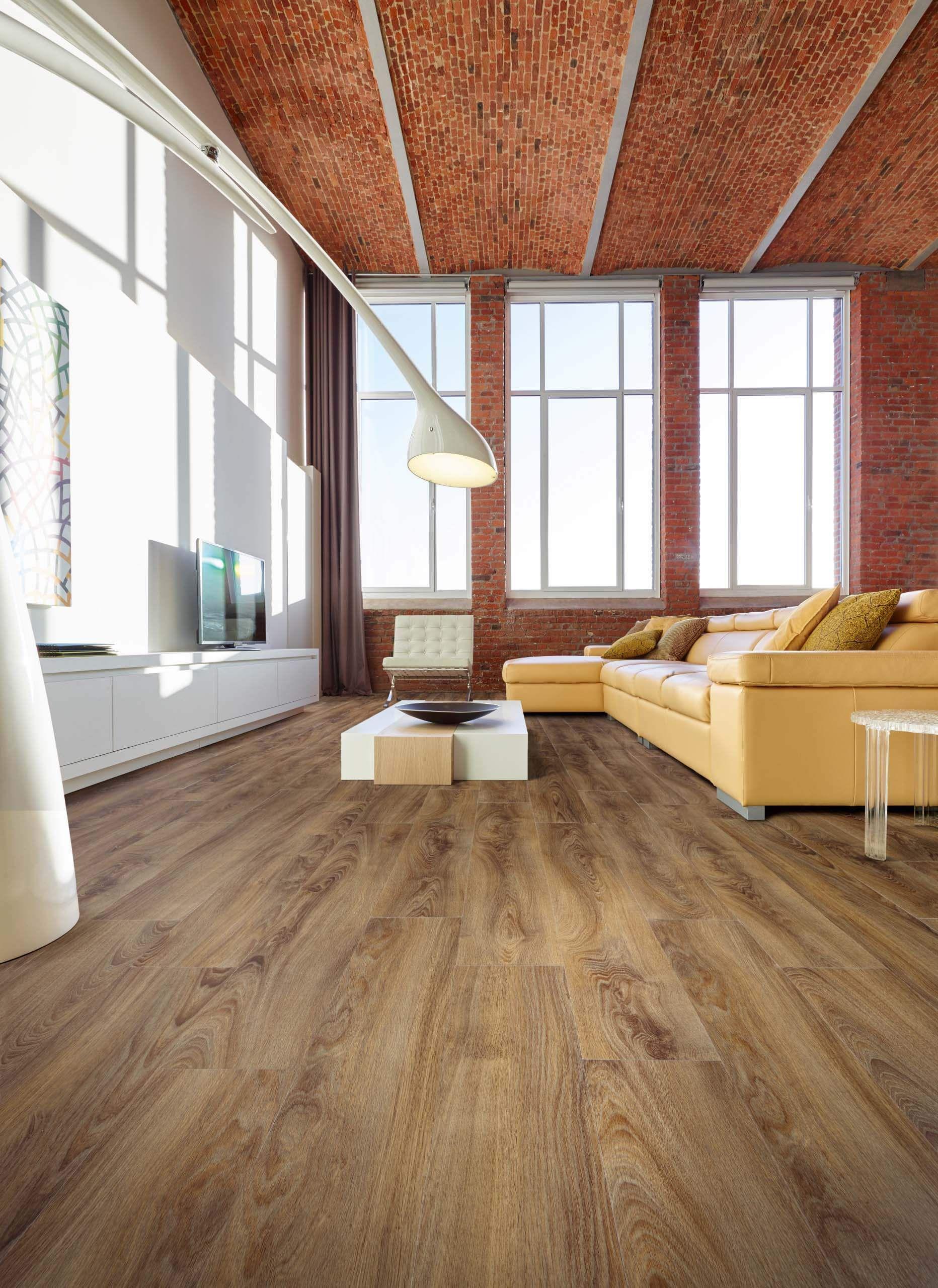 midland oak wood effect luxury vinyl flooring moduleo