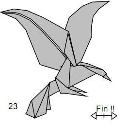 Origami EAGLE EASY for KIDS - Yakomoga Origami easy tutorial | Origami  adler, Origami für anfänger, Origami-tiere | 257x266
