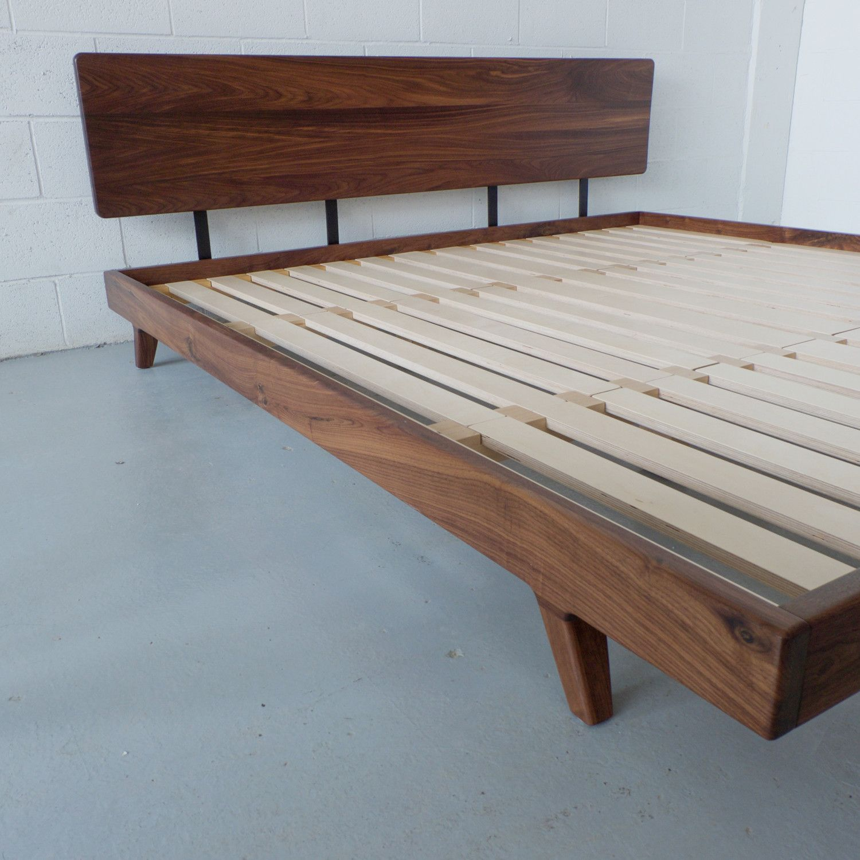 Walnut Bedframe Walnut Bedframe Bedroom Attention Bedroom Design Diy Walnut Bed Frame Diy Bed Frame