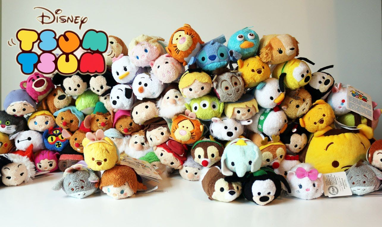 Disney Tsum Tsum Plush Collection Tour - Frozen, Big Hero 6 ...