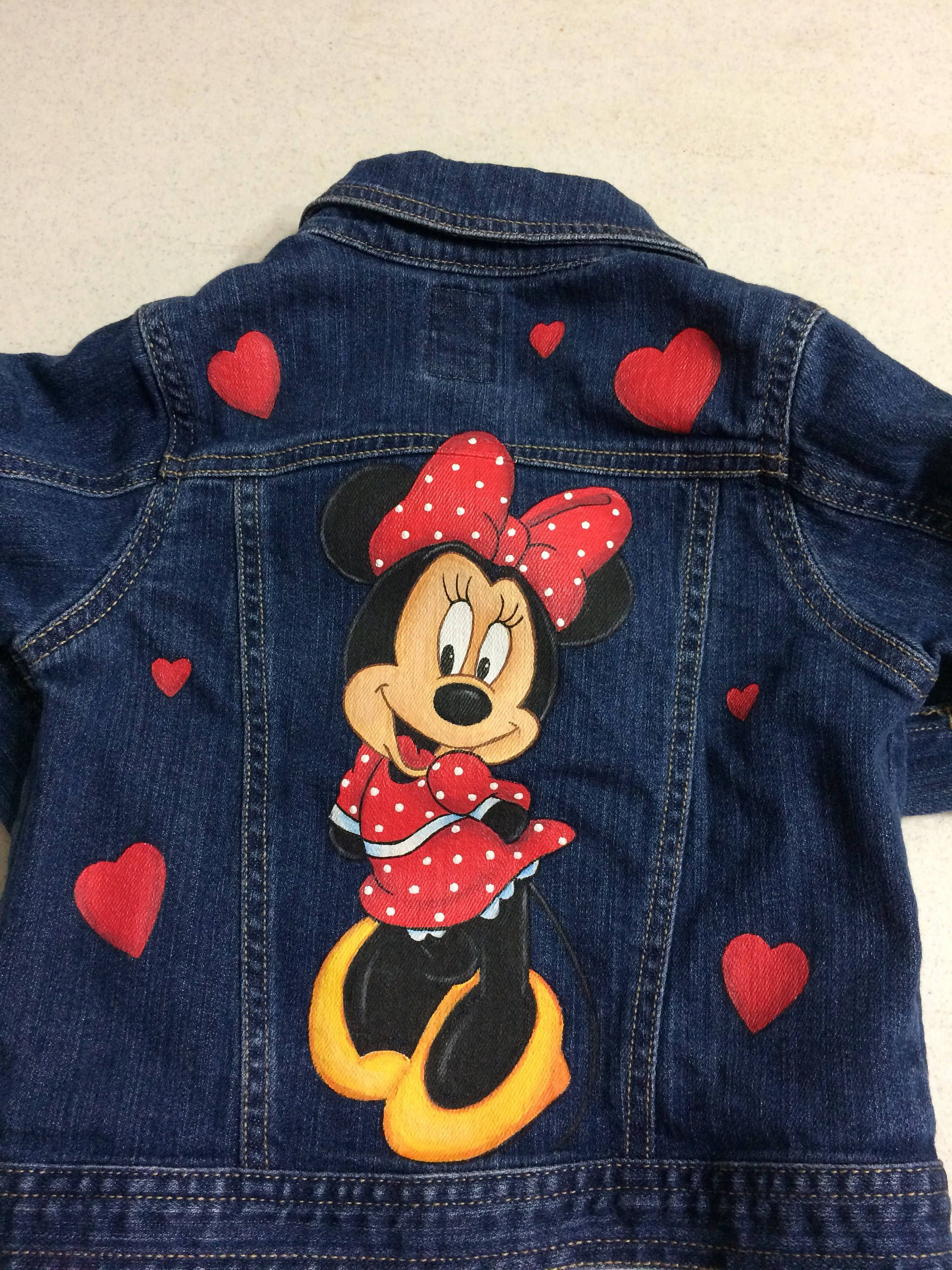 Custom Minnie With Hearts Front And Back Disney Painted Jean Etsy Painted Jeans Soft Clothes Fabric Paint Designs [ 3000 x 2250 Pixel ]