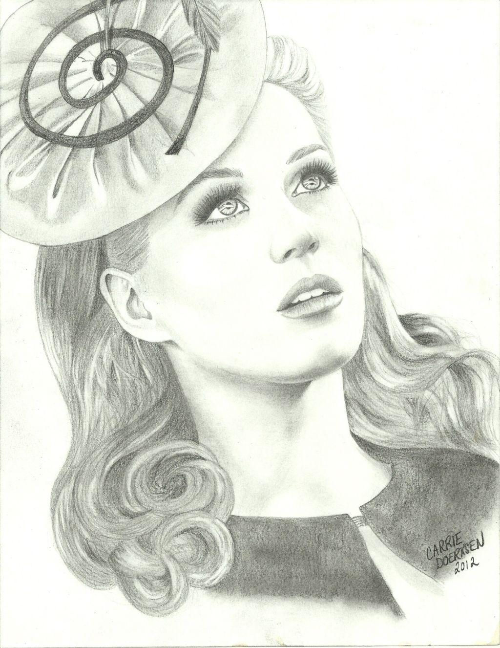 Katy Perry Fan Art Kp3d Katy Perry Desenhos Feito A Lapis Desenhos