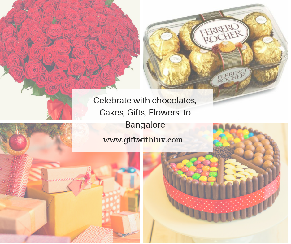 Send birthday gift online to Bangalore, We deliver