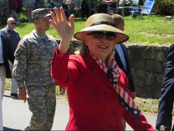 8d34242156 Hillary Clinton wearing an EJ Squishee® Cap. | Au Naturel | Hats for ...