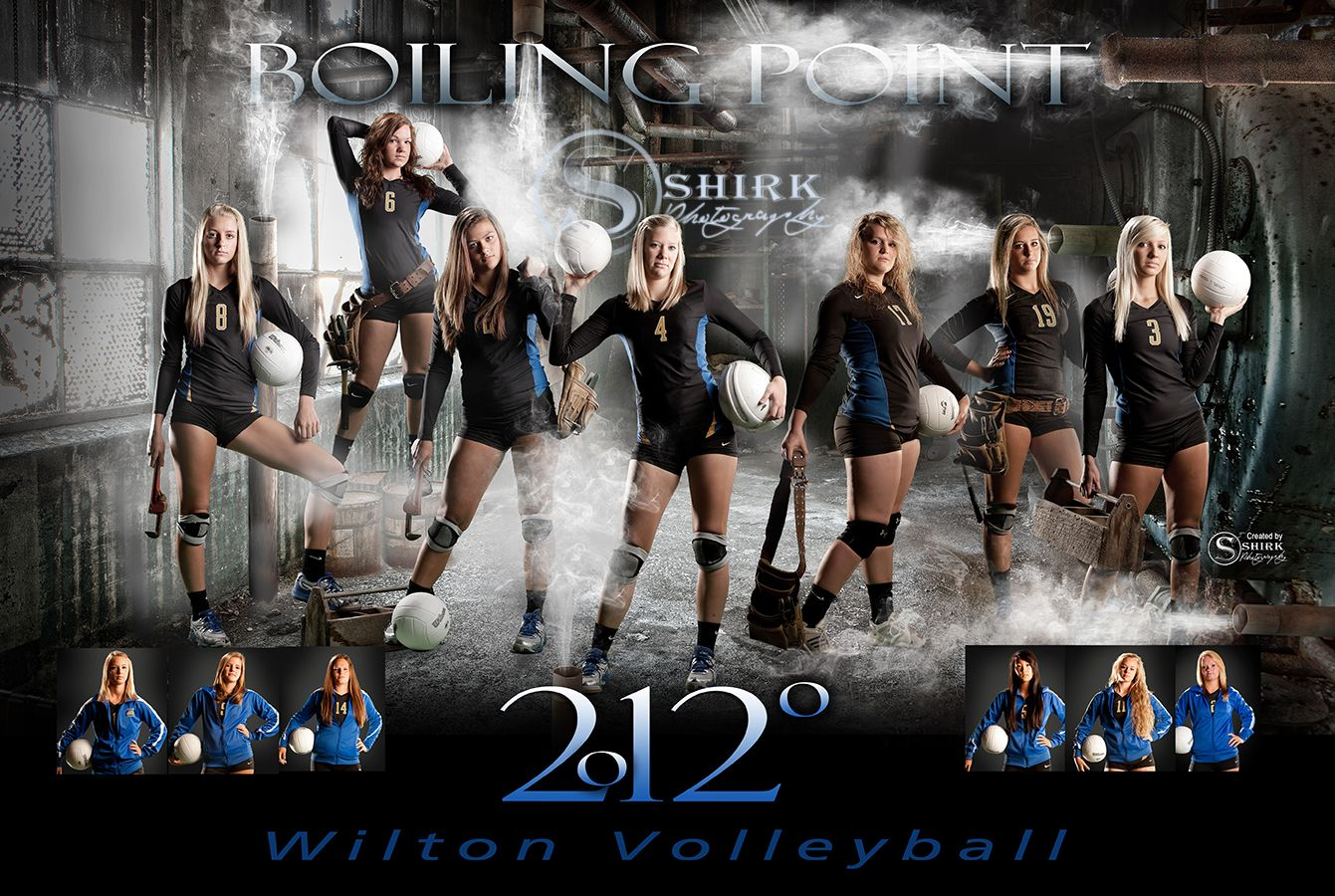 A Few Sweet New Team Posters Volleyball Team Pictures Volleyball Team Photos Sports Team Photography