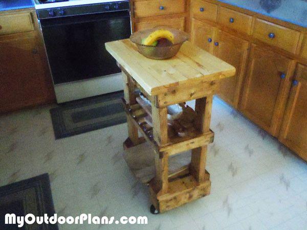 DIY Butcher Block Table