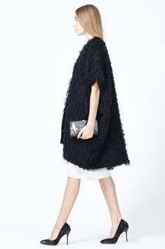 Zero + Maria Cornejo Gaban Coat (Black)