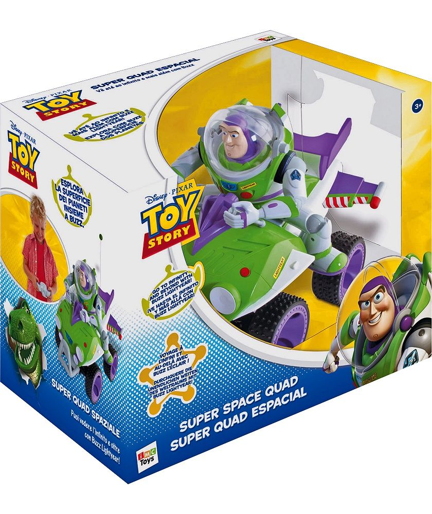 Buy Toy Story Remote Controlled Buzz Lightyear Quad at
