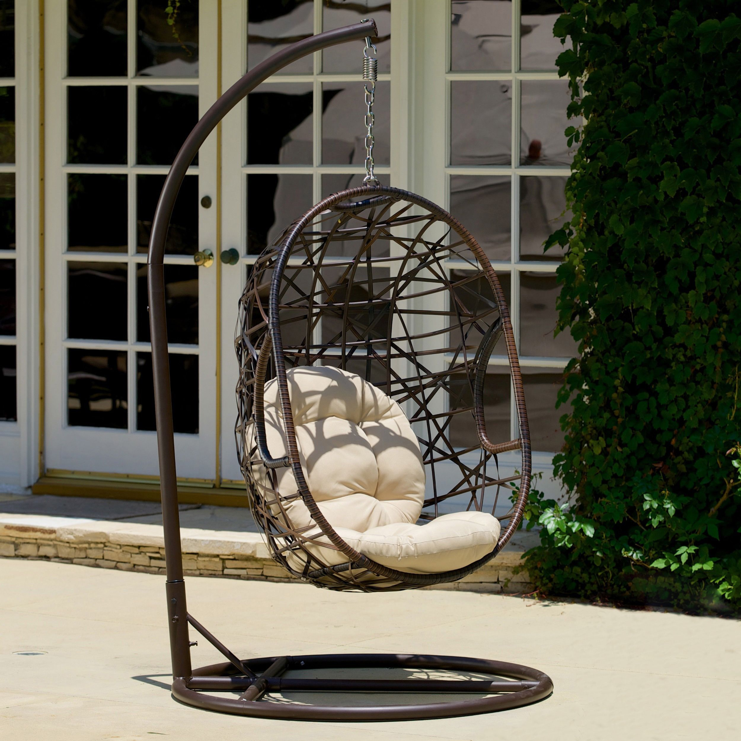 Great Home Loft Concept Eddy Egg Shaped Outdoor Swing Chair
