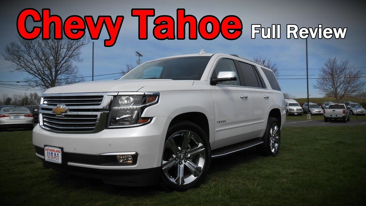 2017 Chevrolet Tahoe Full Review Premier Lt Ls Z71 Midnight