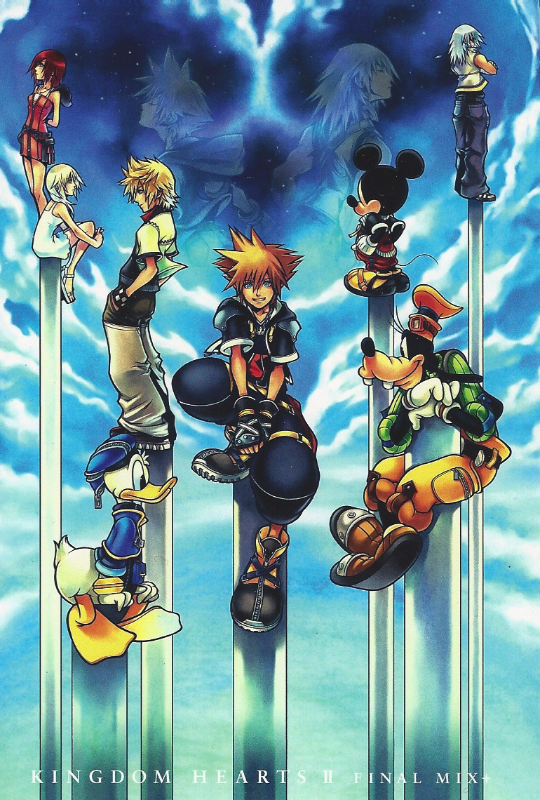 Kingdom Hearts Ii Final Mix Png 770 1140 Kingdom Hearts