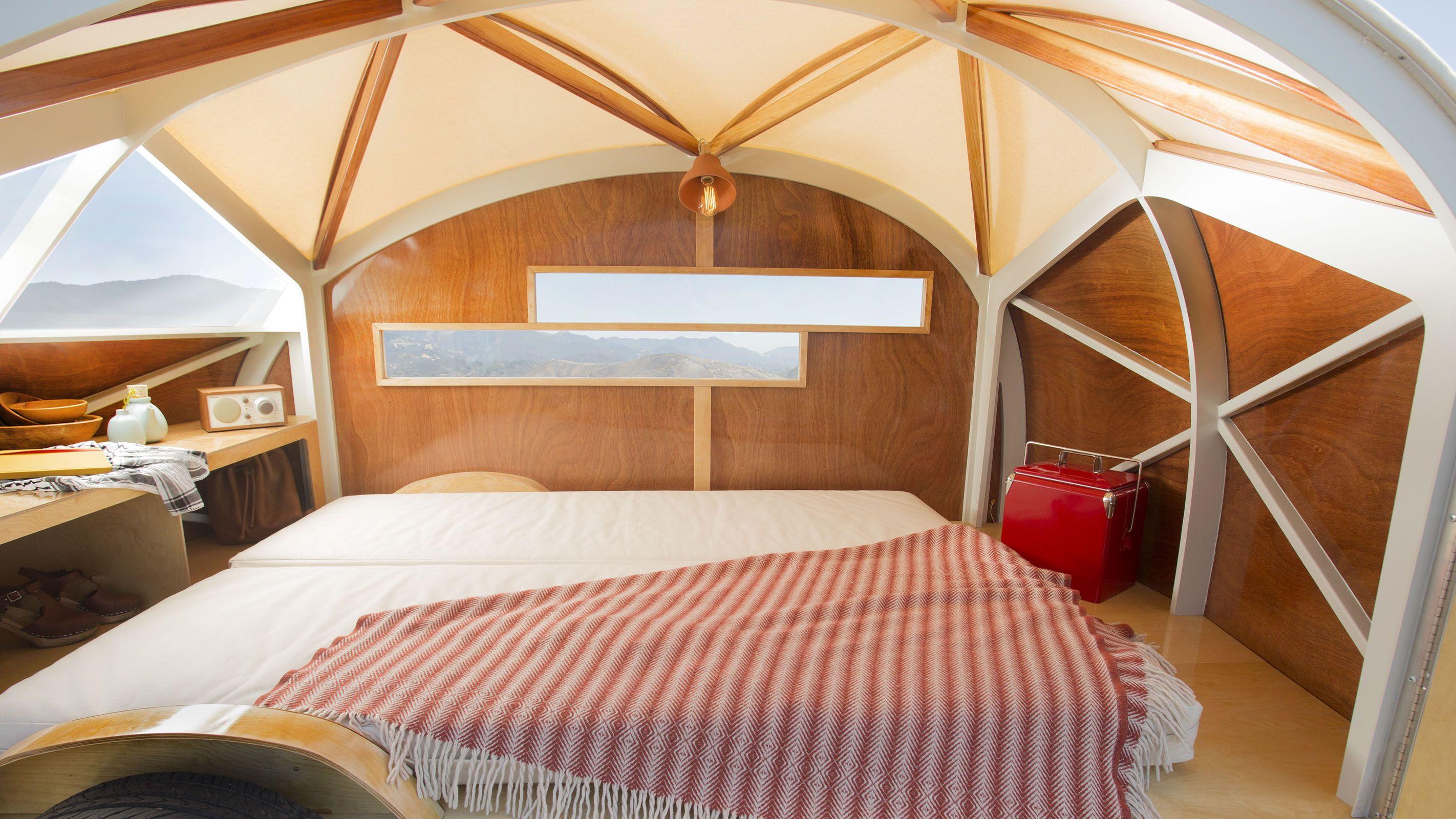 h tte hut interior home designs teardrop trailer wohnwagen kaufen und haus auf r dern. Black Bedroom Furniture Sets. Home Design Ideas