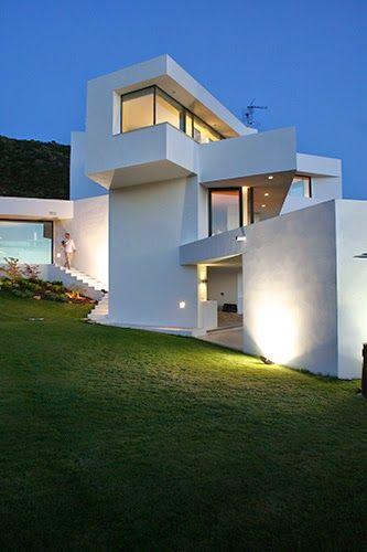 Casa contemporánea u201cEl Vientou201d   Otto Medem de la Torriente en - fachadas contemporaneas