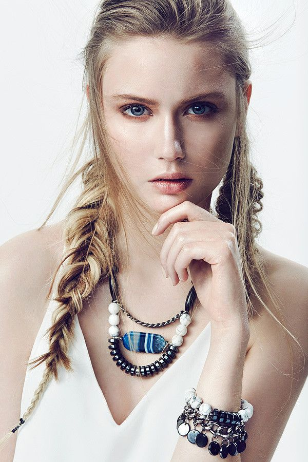 Iwona Domanska's Tsumi Jewelry; means unique, one-off pieces or limited series. Based mainly on natural materials like semi precious stones, shells and pearls it combines nature with unusual design, € 79.00 or $69.62 USD.
